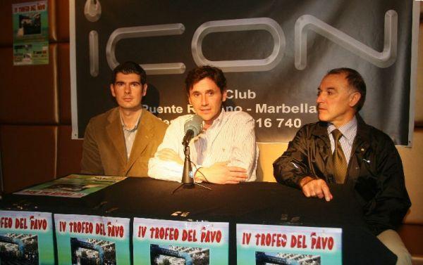 Presentación del Trofeo del Pavo, Marbella