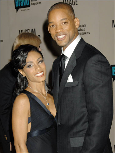 Will Smith y su esposa, Jada Pinkett