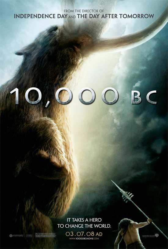 Cartel de '10,000 B.C'.