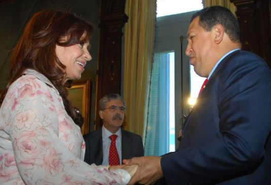 Argentina se alinea con Venezuela