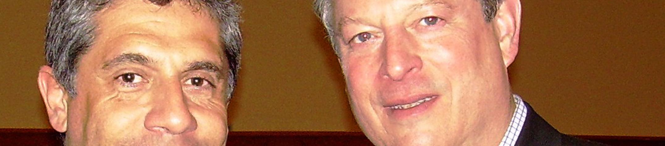 Pacho Campo y Al Gore