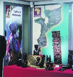 Arte y cultura que viene de mozambique