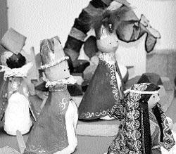 Belenes de artesanos infantiles