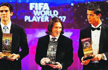 Kaká, el mejor del mundo