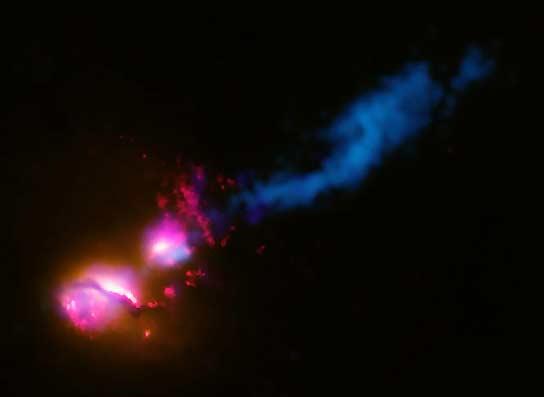 El fin de una galaxia