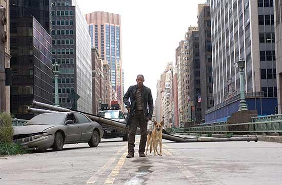 Fotograma de la película 'Soy leyenda'.