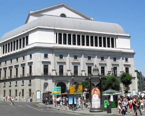 Teatro Real madrid