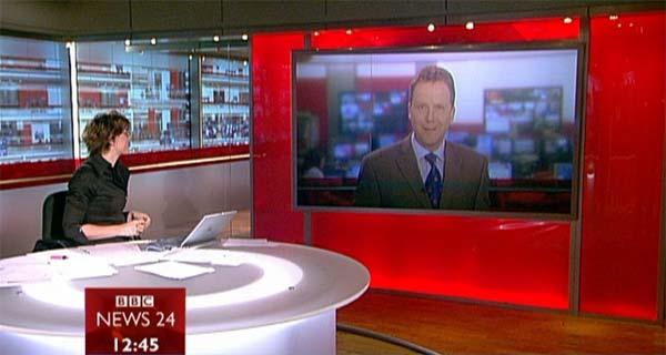 Un informativo de BBC
