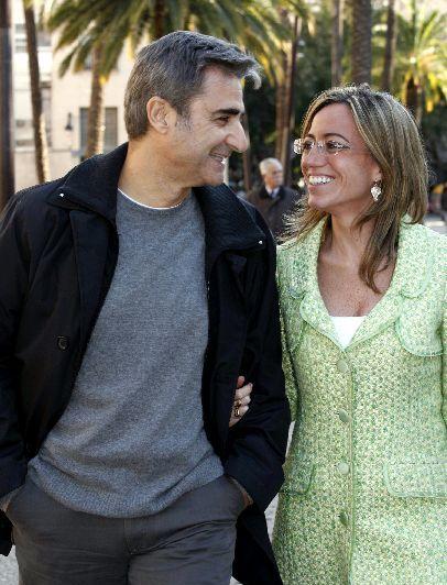 Carme Chacón y Miguel Barroso.