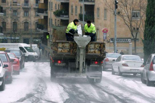 Nieve en Salamanca