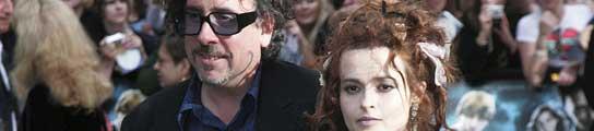 Tim Burton y Helena Bonham Carter