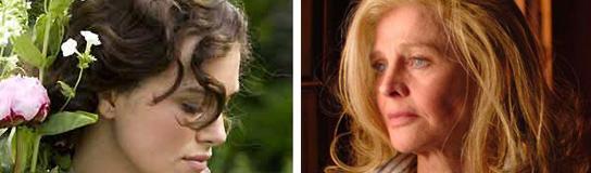 Keira Knightley y Julie Christie