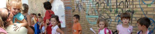 Niños en un colegio malagueño