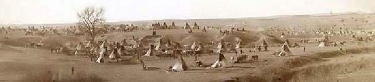Campamento lakota
