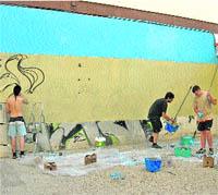 Los grafiteros tendrán 5.000 m2 de muro para reeducarse