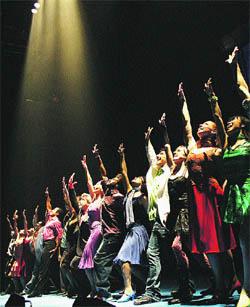 Bailarines en busca de la fama