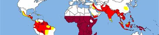 Mapa de la malaria