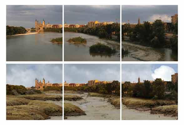 El Ebro seco