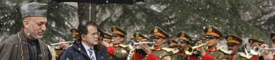 Prodi en Afganistán