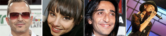 Bosé, Chenoa, Antonio Carmona y Natalia de 'La Quinta Estación'