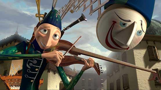 Imagen de 'One man band', cortometraje de Pixar.