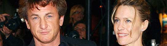 Sean Penn y Robin Wright
