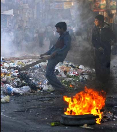 Disturbios en Pakistán.