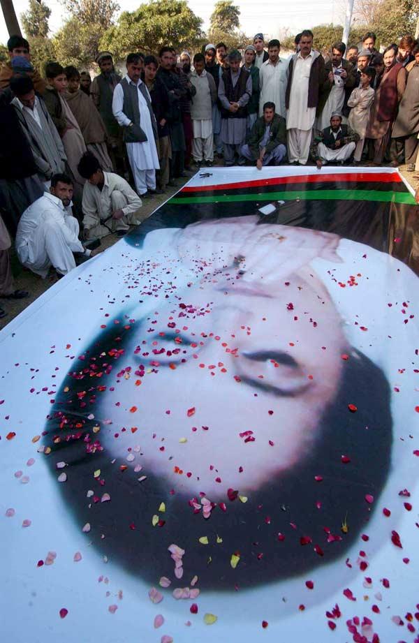 Luto por Bhutto