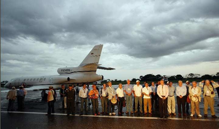 Rescate de los rehenes de las FARC.