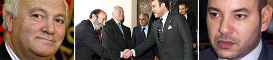 Miguel Ángel Moratinos y Mohamed VI