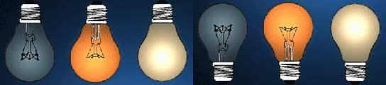 Las autoridades británicas quieren sustituir de aquí al 2011 todas las bombillas incandescentes tradicionales.