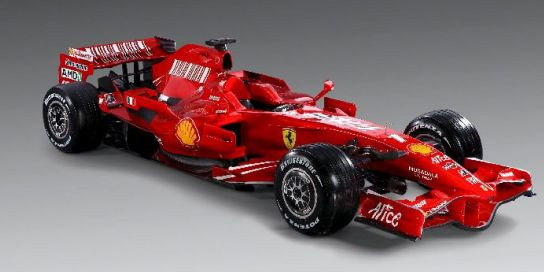 Nuevo Ferrari F2008