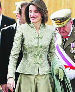 La Princesa Letizia luce corte de pelo