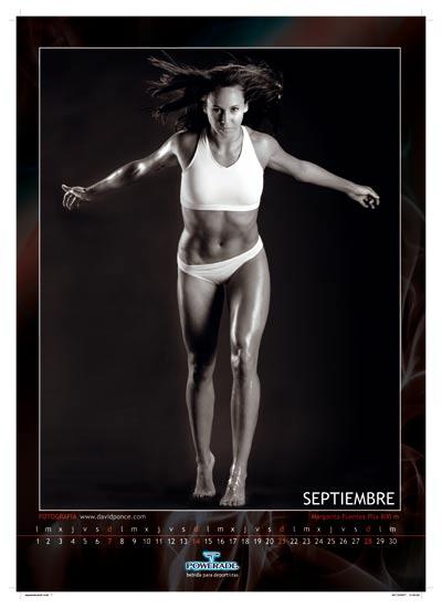 Margarita Fuentes-Pila, 800 metros. Septiembre, Margarita Fuentes-Pila. Con la corredora de 800 metros nos adentramos en el otoño.