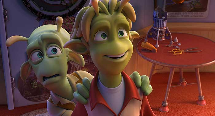 Fotograma de 'Planet 51', película de Ilion Animation Studios.