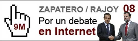 Debate Zapatero y Rajoy