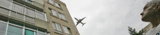 Ruido de aviones.