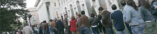 Imagen de archivo del madrile�o museo del Prado.