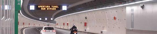 El límite de velocidad en los túneles de la M-30 es de 70 Km/h