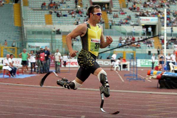 Oscar Pistorius, en una imagen de archivo, el año pasado en Roma.
