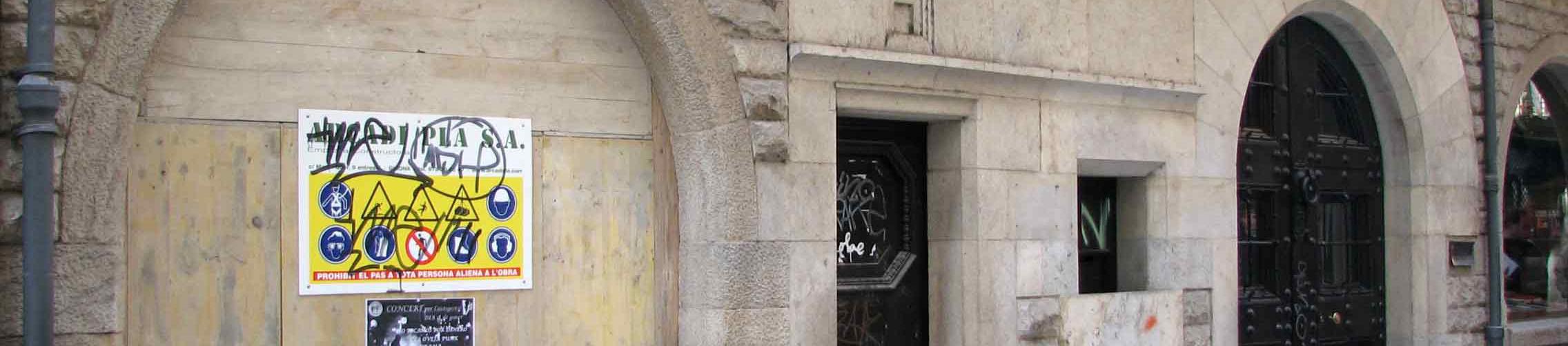 Las obras de la sede de la Fundación Rafael Masó