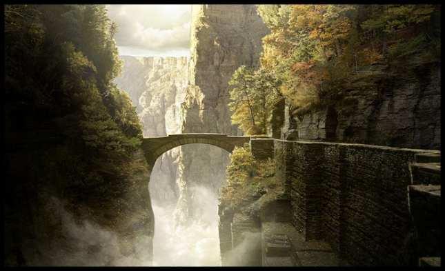 puentes extraños y terrorificos