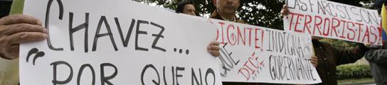 Protestas contra Chávez en Colombia