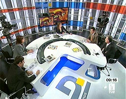 Debate de los medios gratuitos (Fuente: TVE)