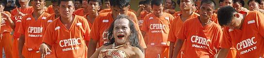 Presos cárcel Filipinas.