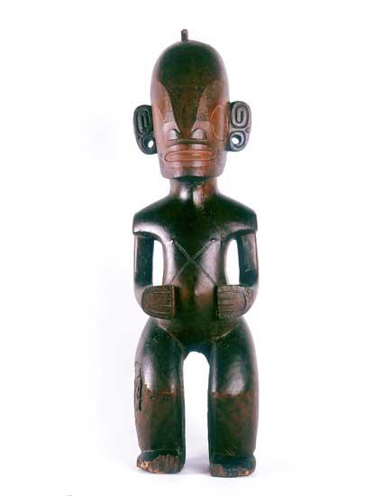 'Picasso y su colección'. Tiki.Islas Marquesas (Polinesia).s. XIX / Madera.Colección privada.