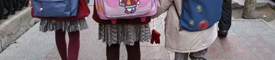 El uso de la falda en el uniforme escolar