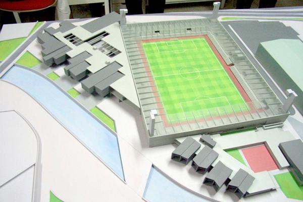 El real vila presenta su proyecto para el nuevo estadio - Proyecto club deportivo ...