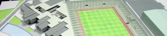 Proyecto del nuevo estadio del Real Ávila