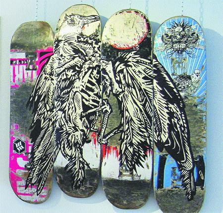 EL 'SKATE': arte URBANO sobre ruedas